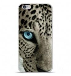 Coque en silicone Apple iPhone 6 / 6S - Oeil de léopard