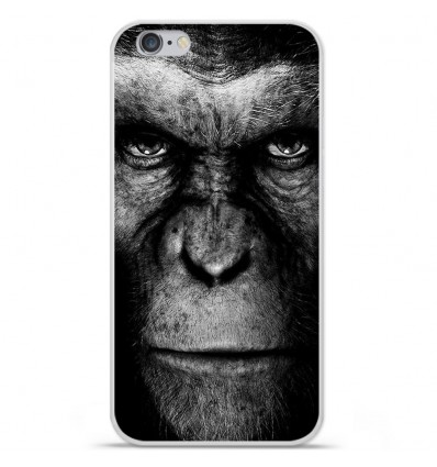 Coque en silicone Apple iPhone 6 / 6S - Singe