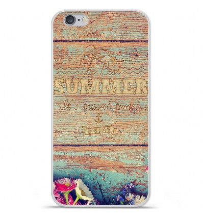 Coque en silicone Apple iPhone 6 / 6S - The best summer