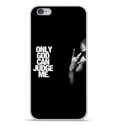 Coque en silicone Apple iPhone 6 / 6S - Tupac