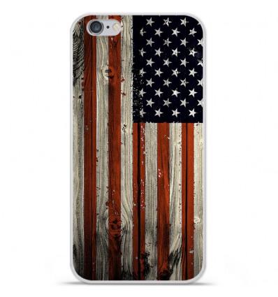 Coque en silicone Apple iPhone 6 / 6S - USA Hood