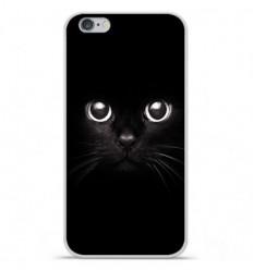 Coque en silicone Apple iPhone 6 / 6S - Yeux de chat