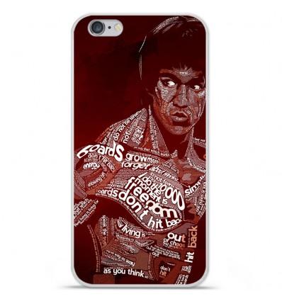 Coque en silicone Apple iPhone 6 Plus / 6S Plus - Bruce lee