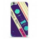 Coque en silicone Apple iPhone 6 Plus / 6S Plus - Cassette Vintage