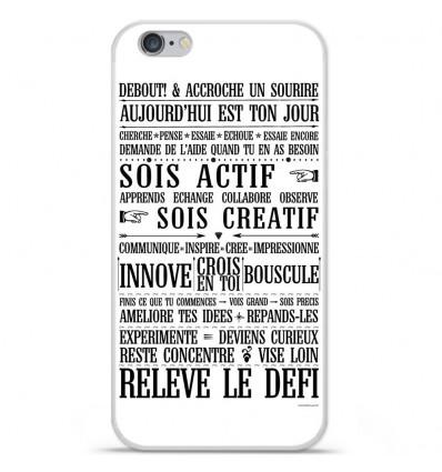 Coque en silicone Apple iPhone 6 Plus / 6S Plus - Citation 11
