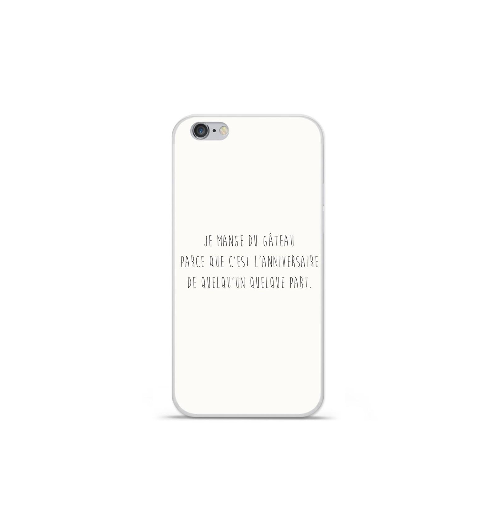 coque iphone 6 plus citation