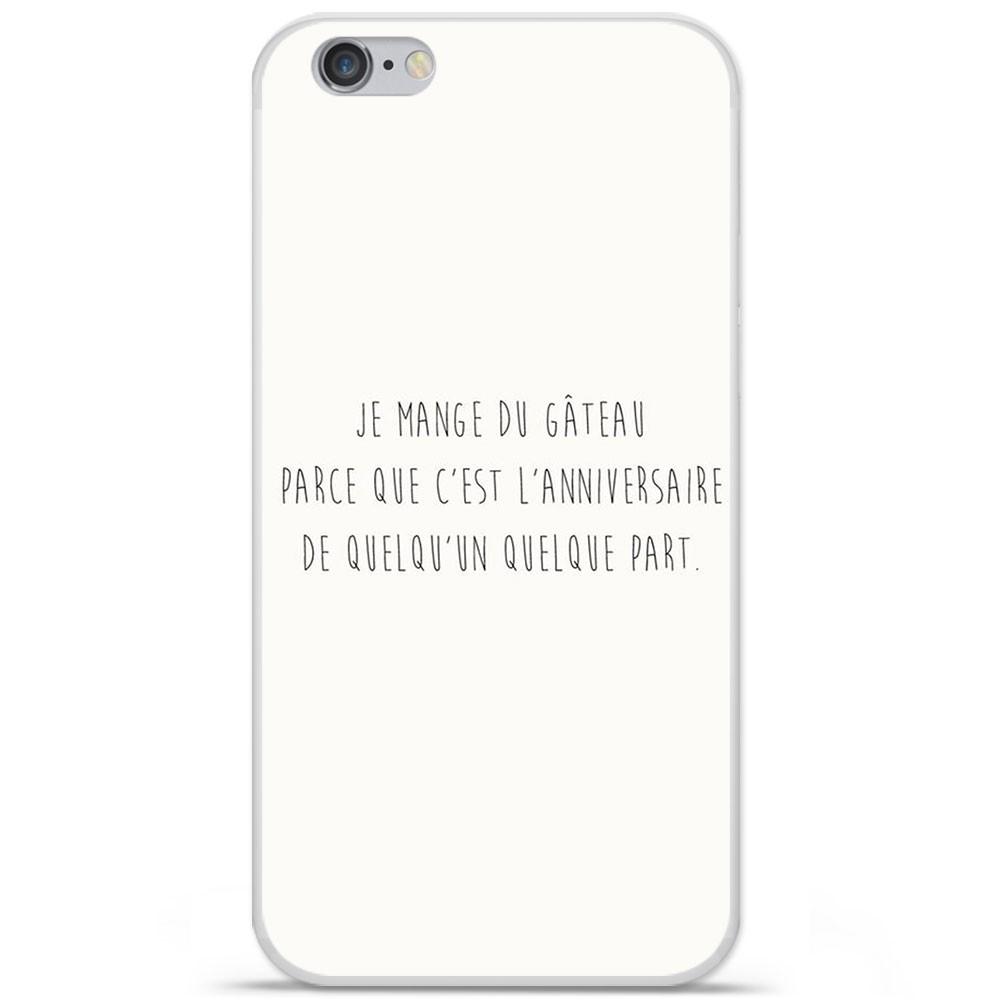 coque en silicone apple iphone 6 plus 6s plus citation 12