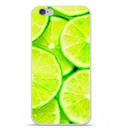 Coque en silicone Apple iPhone 6 Plus / 6S Plus - Citron