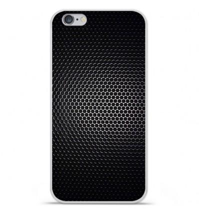 Coque en silicone Apple iPhone 6 Plus / 6S Plus - Dark Metal