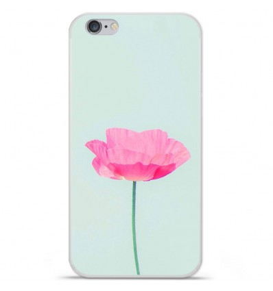 Coque en silicone Apple iPhone 6 Plus / 6S Plus - Fleur Rose
