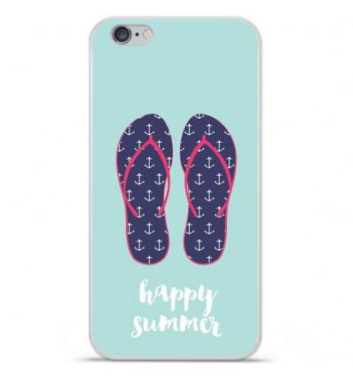 Coque en silicone Apple iPhone 6 plus / 6s plus - Happy summer