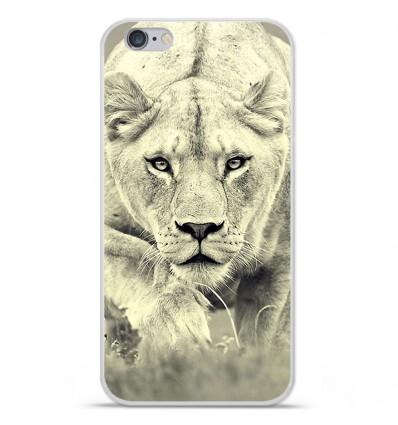 Coque en silicone Apple iPhone 6 Plus / 6S Plus - Lionne