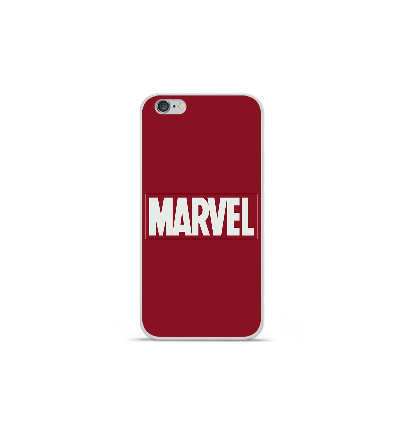 coque en silicone apple iphone 6 plus 6s plus marvel. Black Bedroom Furniture Sets. Home Design Ideas