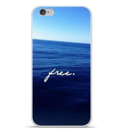 Coque en silicone Apple iPhone 6 Plus / 6S Plus - Océan free