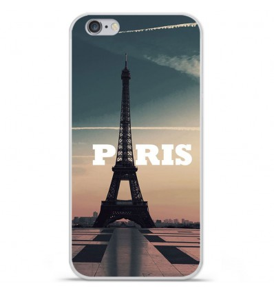 Coque en silicone Apple iPhone 6 Plus / 6S Plus - Paris