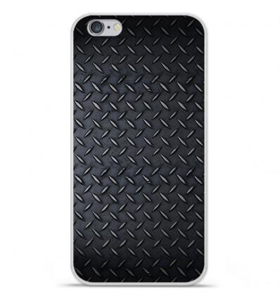Coque en silicone Apple iPhone 6 Plus / 6S Plus - Texture metal
