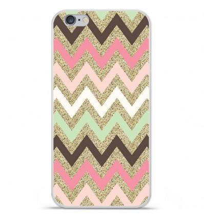 Coque en silicone Apple iPhone 6 Plus / 6S Plus - Texture rose