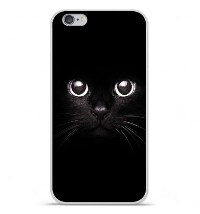Coque en silicone Apple iPhone 6 Plus / 6S Plus - Yeux de chat