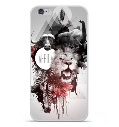 Coque en silicone Apple IPhone 7 - Africa Swag