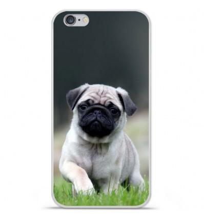 Coque en silicone Apple IPhone 7 - Bulldog français