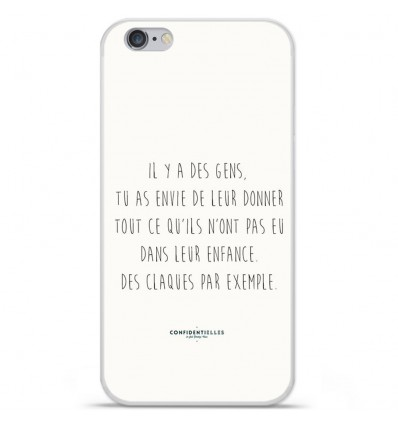 Coque en silicone Apple IPhone 7 - Citation 01