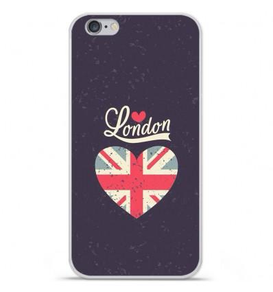 Coque en silicone Apple IPhone 7 - I love London