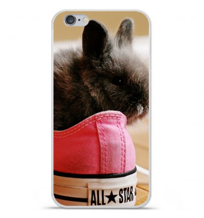 Coque en silicone Apple IPhone 7 - Lapin allstar