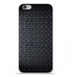 Coque en silicone Apple IPhone 7 - Texture metal