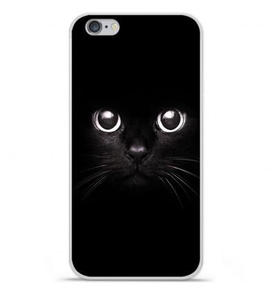 Coque en silicone Apple IPhone 7 - Yeux de chat