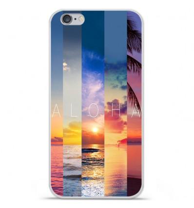 Coque en silicone Apple IPhone 7 Plus - Aloha
