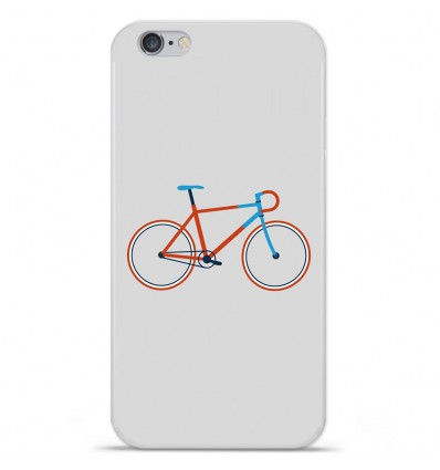 Coque en silicone Apple IPhone 7 Plus - Bike color Hipster