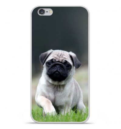 Coque en silicone Apple IPhone 7 Plus - Bulldog français