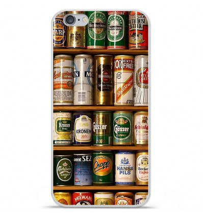 Coque en silicone Apple IPhone 7 Plus - Canettes