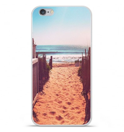 Coque en silicone Apple IPhone 7 Plus - Chemin de plage