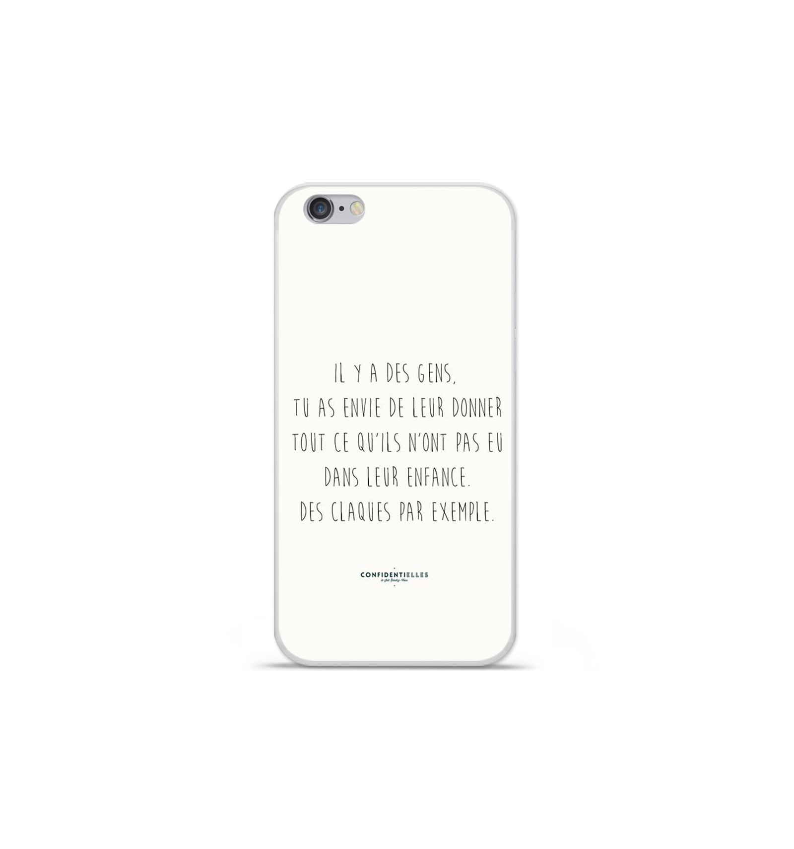coque iphone 7 ecriture drole