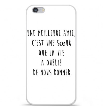 Coque en silicone Apple IPhone 7 Plus - Citation 04