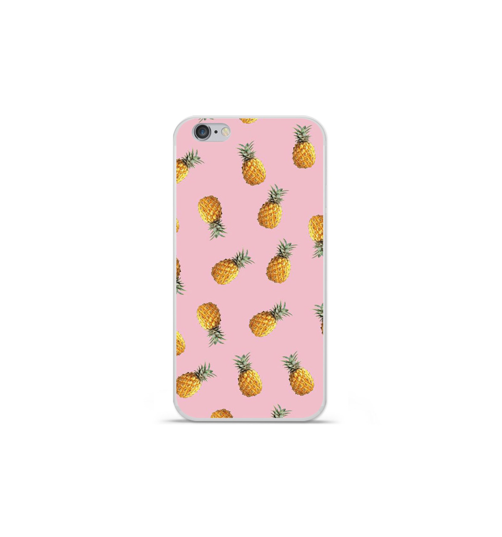 iphone 7 coque silicone ananas