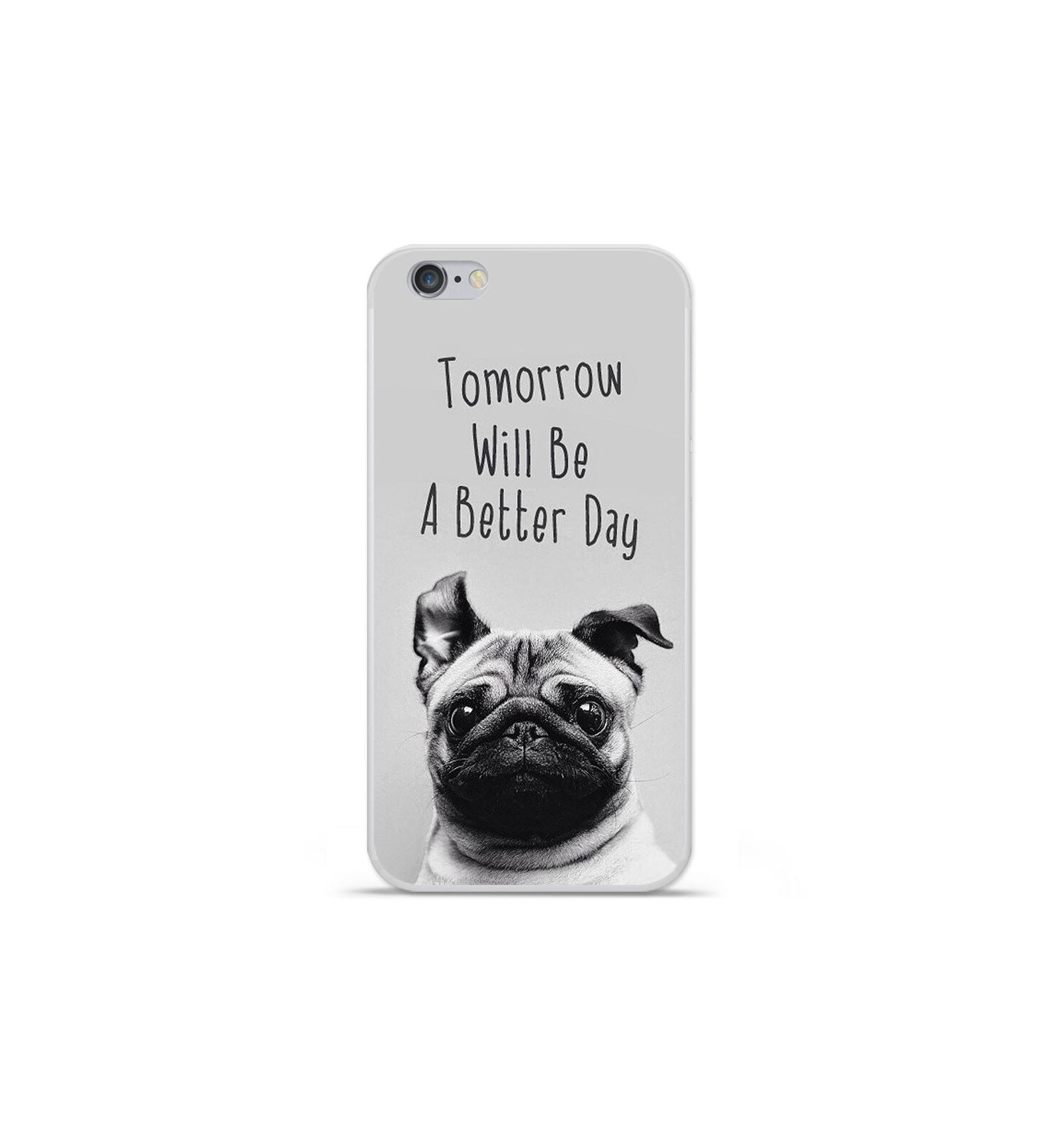 iphone 7 coque pug