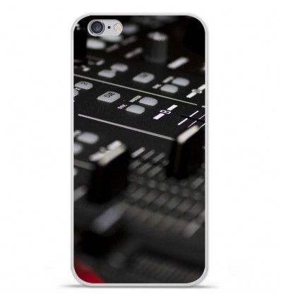 Coque en silicone Apple IPhone 7 Plus - Dj Mixer