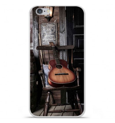 Coque en silicone Apple IPhone 7 Plus - Guitare