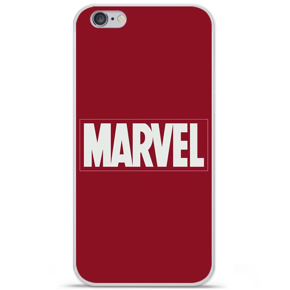 Coque en silicone Apple IPhone 7 Plus - Marvel