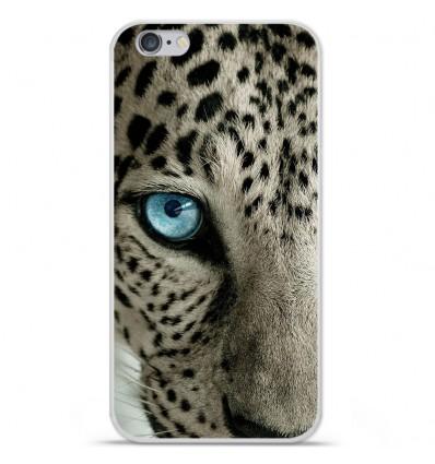 Coque en silicone Apple IPhone 7 Plus - Oeil de léopard