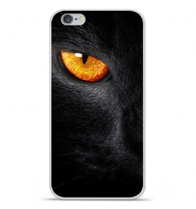 Coque en silicone Apple IPhone 7 Plus - Oeil de Panterre
