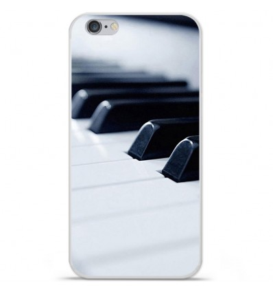Coque en silicone Apple IPhone 7 Plus - Piano
