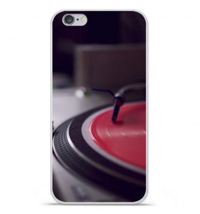 Coque en silicone Apple IPhone 7 Plus - Platine
