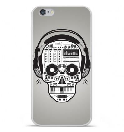 Coque en silicone Apple iPhone 7 Plus - Skull Music