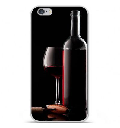 Coque en silicone Apple IPhone 7 Plus - Vin