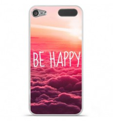 Coque en silicone Apple iPod Touch 5 / 6 - Be Happy nuage