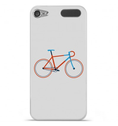 Coque en silicone Apple iPod Touch 5 / 6 - Bike color Hipster
