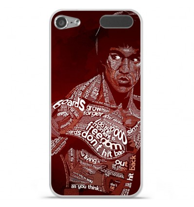Coque en silicone Apple iPod Touch 5 / 6 - Bruce lee